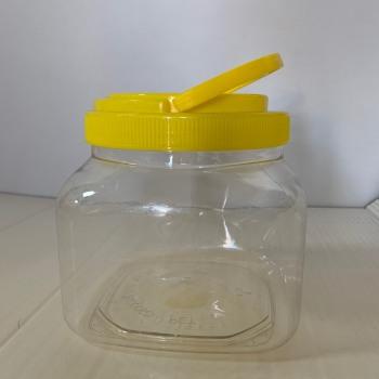 Βάζο Πλαστικό Τετράγωνο 2Lt