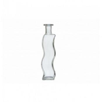 Μπουκάλι κυματιστό 100ml με φελλό