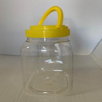 Βάζο Πλαστικό Τετράγωνο 3Lt