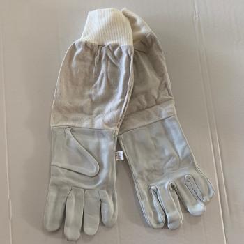 Γάντια μελισσοκομίας δερμάτινα με λάστιχο No XXL