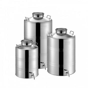 Δοχείο Βιδωτό Λαδιού-Κρασιού Metalbox 50 Lt