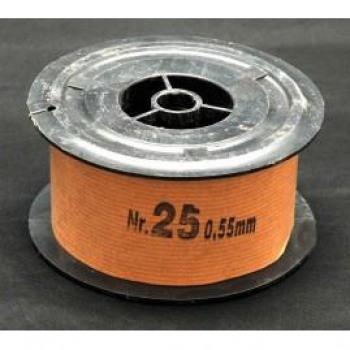 Σύρμα Μελισσοκομίας  Νο25 Φ0,55mm ρολό 2 Kg
