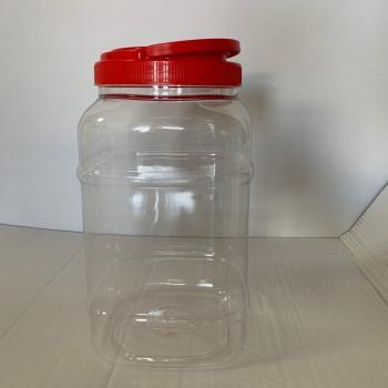 Βάζο Πλαστικό Τετράγωνο 5Lt