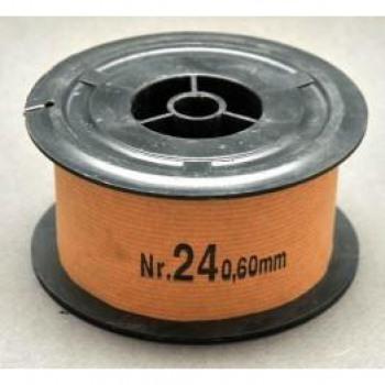 Σύρμα Μελισσοκομίας  Νο 24 Φ0,60 mm ρολό 1 Kg